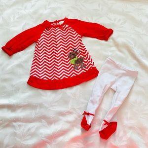 Nursery Rhyme Christmas Dress